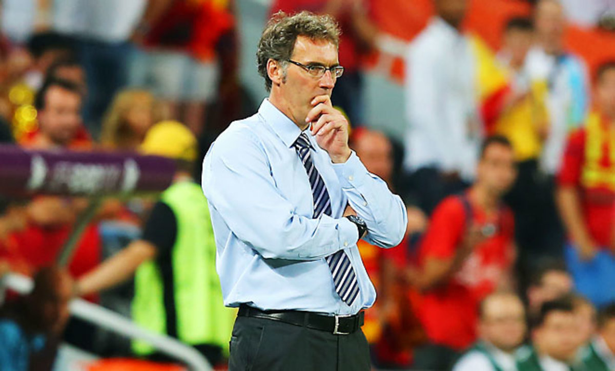 Laurent Blanc's last job was with the French National Team, who he led to the Euro 2012 quarterfinals.