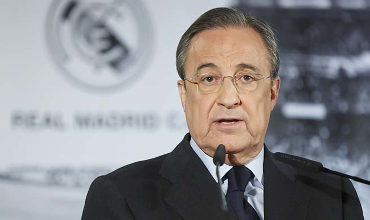 Florentino Perez and Real Madrid were second in La Liga and lost in the Champions League semis.