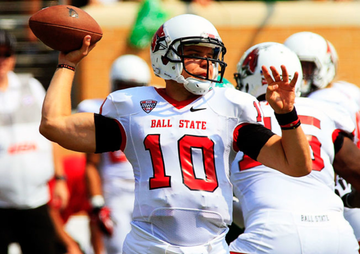 Quarterback Keith Wenning has passed for 2,865 yards and 23 TDs to lead Ball State to an 8-1 record.