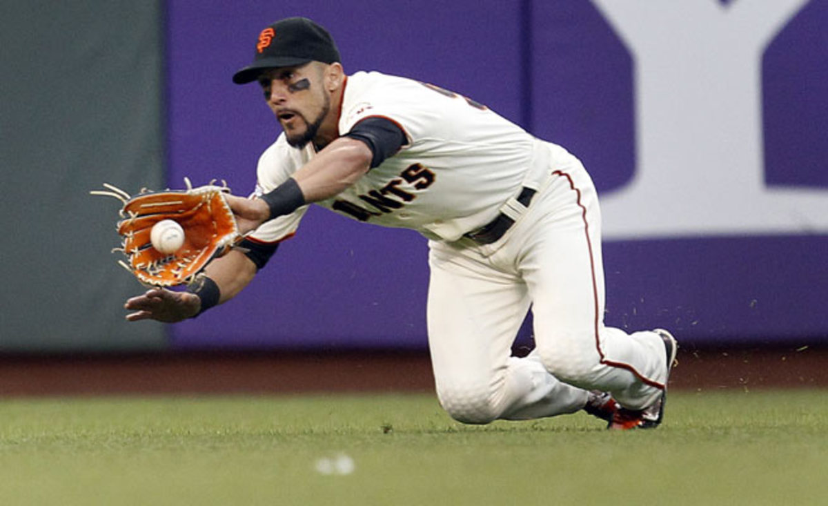 Giants outfielder Andres Torres will undergo season-ending surgery on his left Achilles tendon.