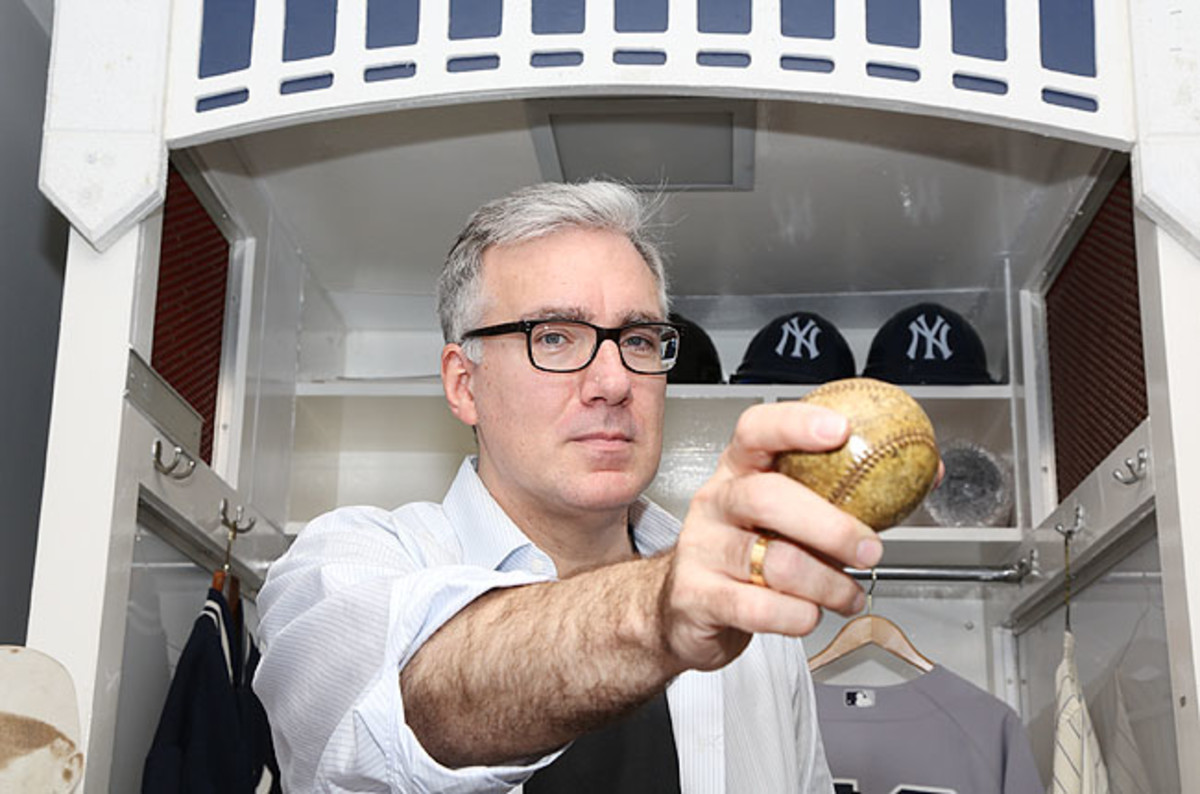 The sometimes volatile and always opinionated Olbermann returns to ESPN to host a late-night show.
