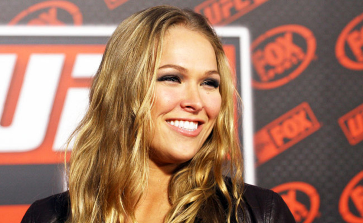 Ronda Rousey's six MMA fights -- all victories -- have lasted an average of just 77 seconds.