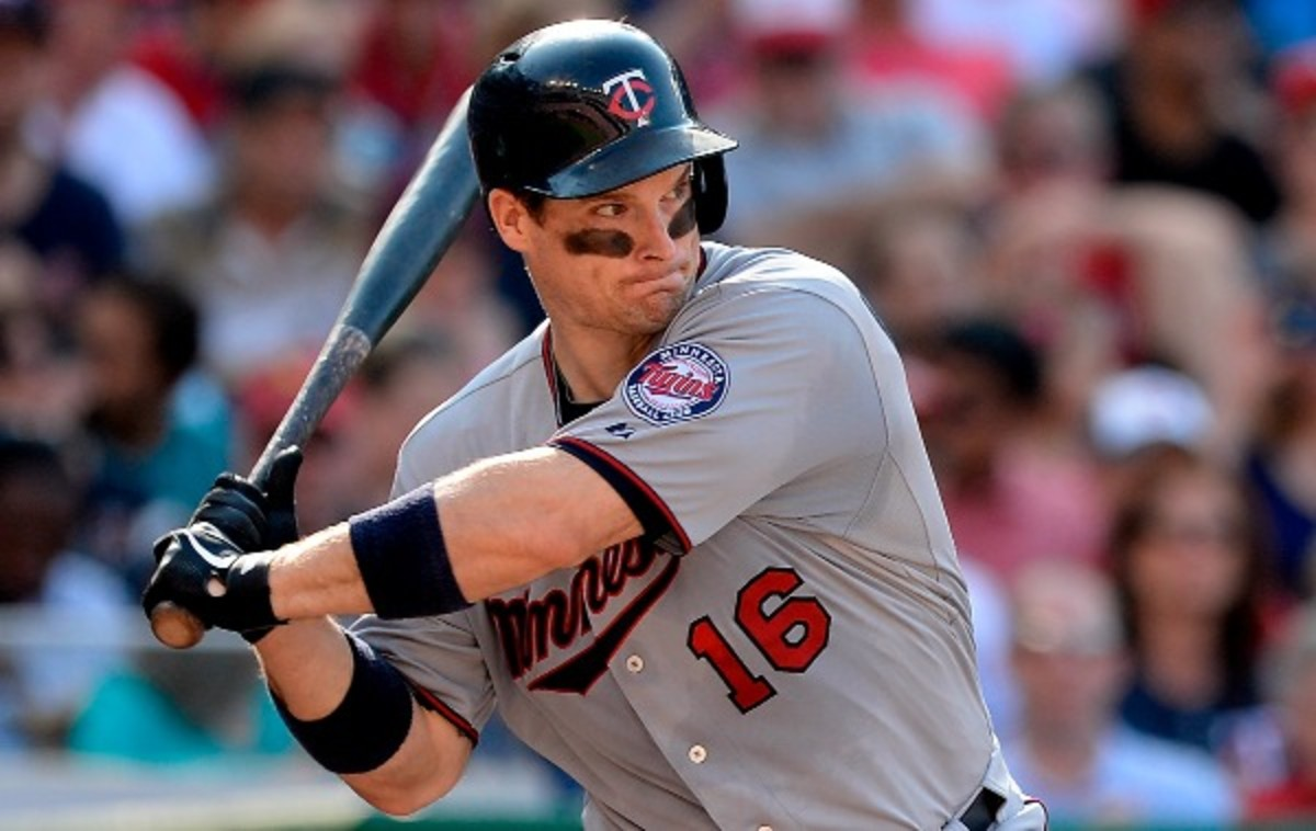 Josh WIllingham has had a disappointing season at the plate for the Twins. (Patrick McDermott/Getty Images)