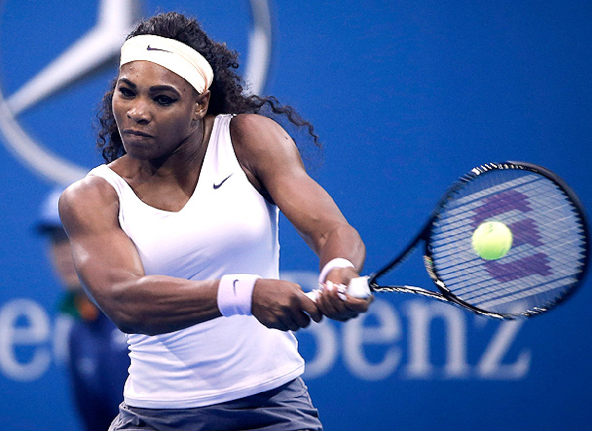 Serena Williams is once again the woman to beat at the China Open this week. (ChinaFotoPress via Getty Images)