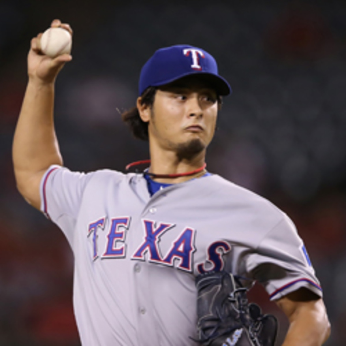 Rangers pitchers Yu Darvish will now be allowed to have an interpreter on the mound for conferences.  (Jeff Gross/Getty Images)