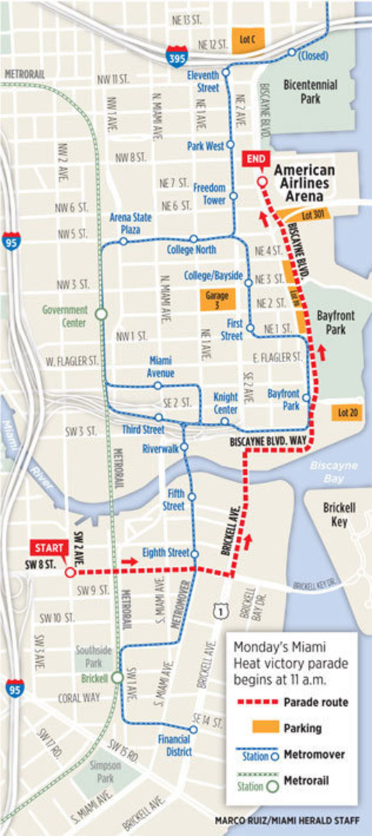 Heat_parade_route
