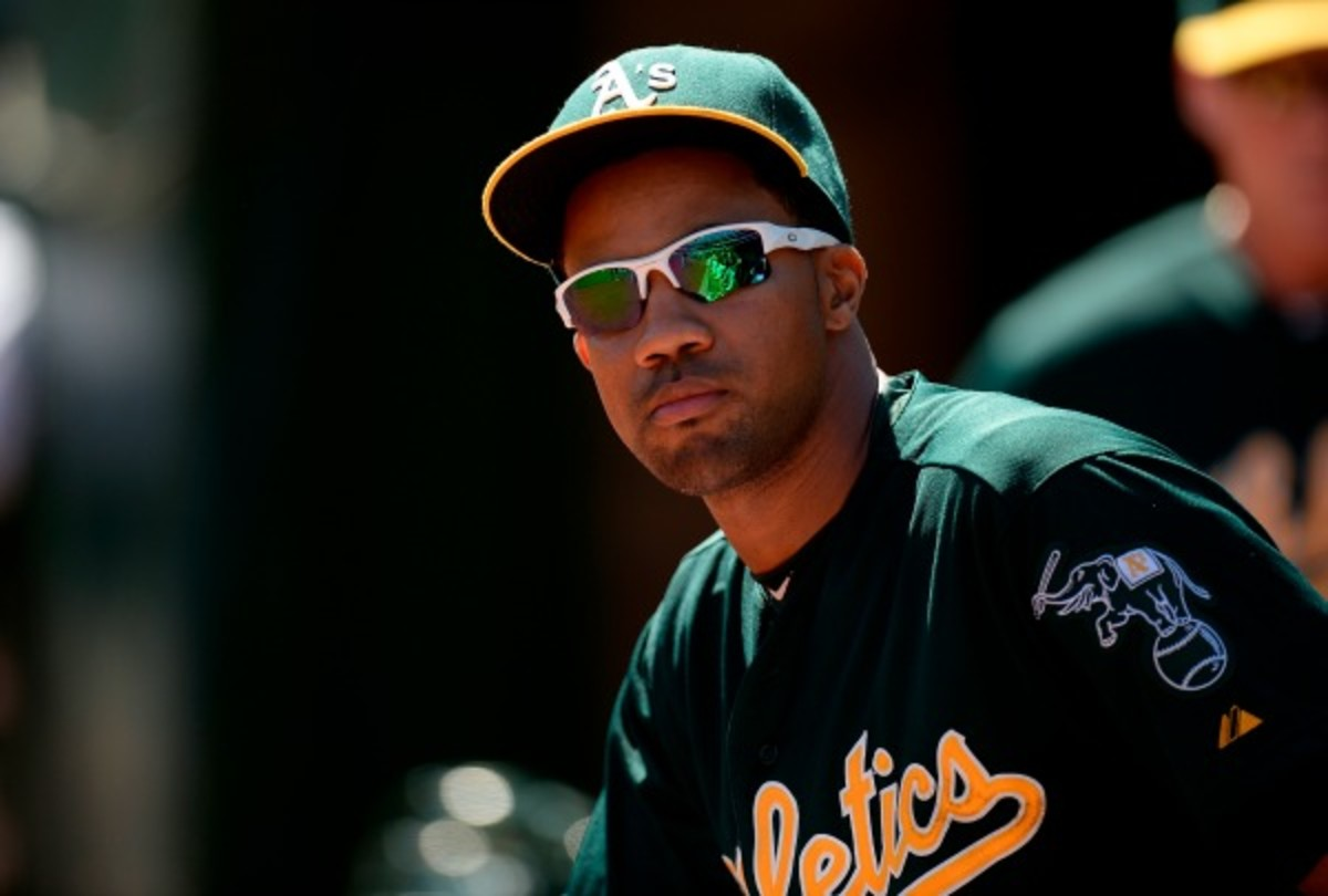 Chris Young had a career-worst season at the plate for the A's. (Thearon W. Henderson/Getty Images)