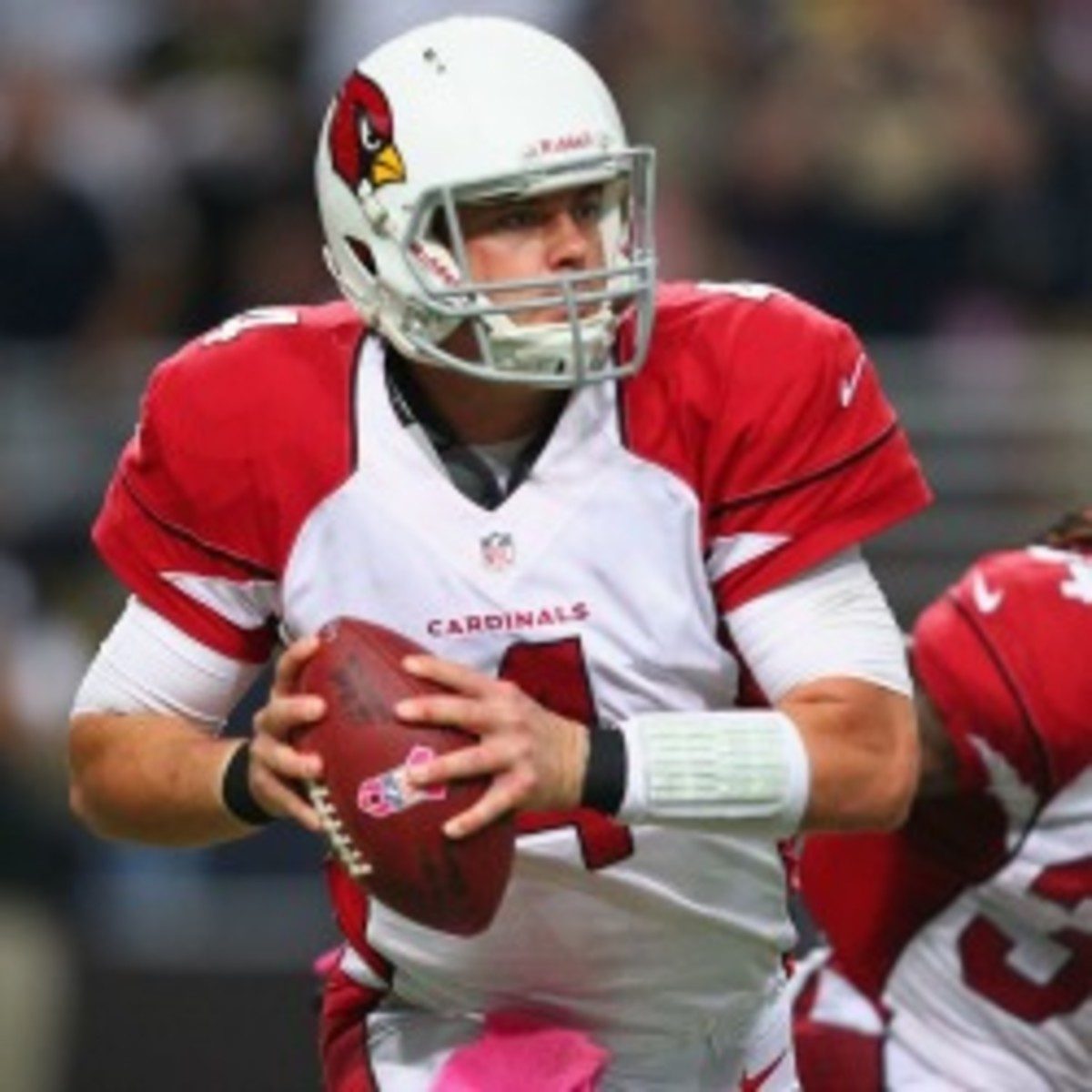 The Bills and free-agent quarterback Kevin Kolb are reportedly close to a deal. (Dilip Vishwanat/Getty Images)