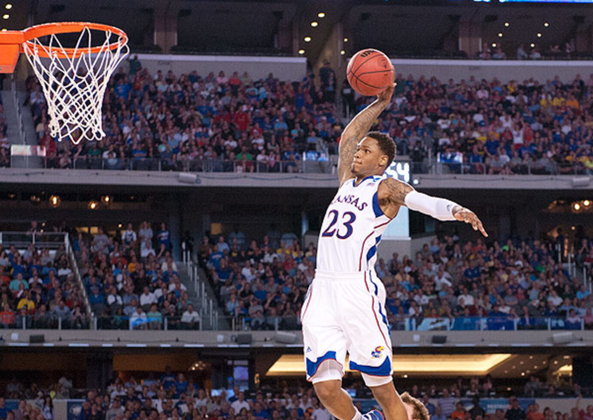 Ben McLemore struggled with consistency during his one year at Kansas.