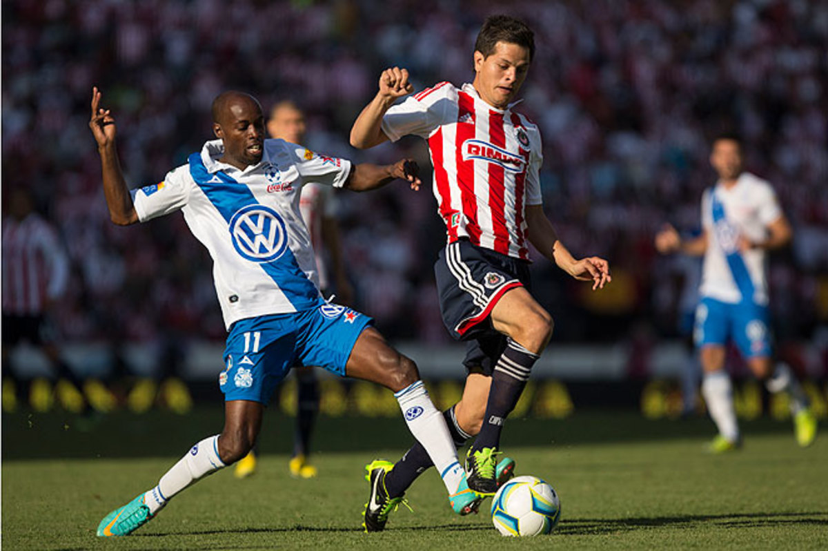 DaMarcus Beasley (left) earned a call-up after a stretch of impressive play for Mexican side Puebla.