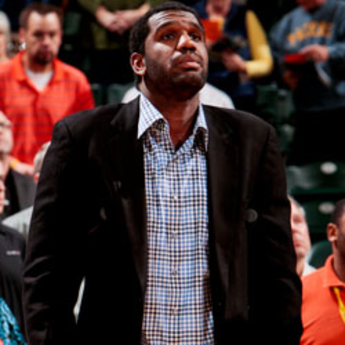 Greg Oden met with the Celtics on Saturday. (Ron Hoskins/Getty Images)