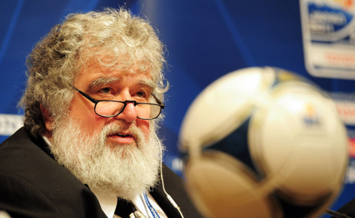 Chuck Blazer has served four terms on the FIFA executive committee.
