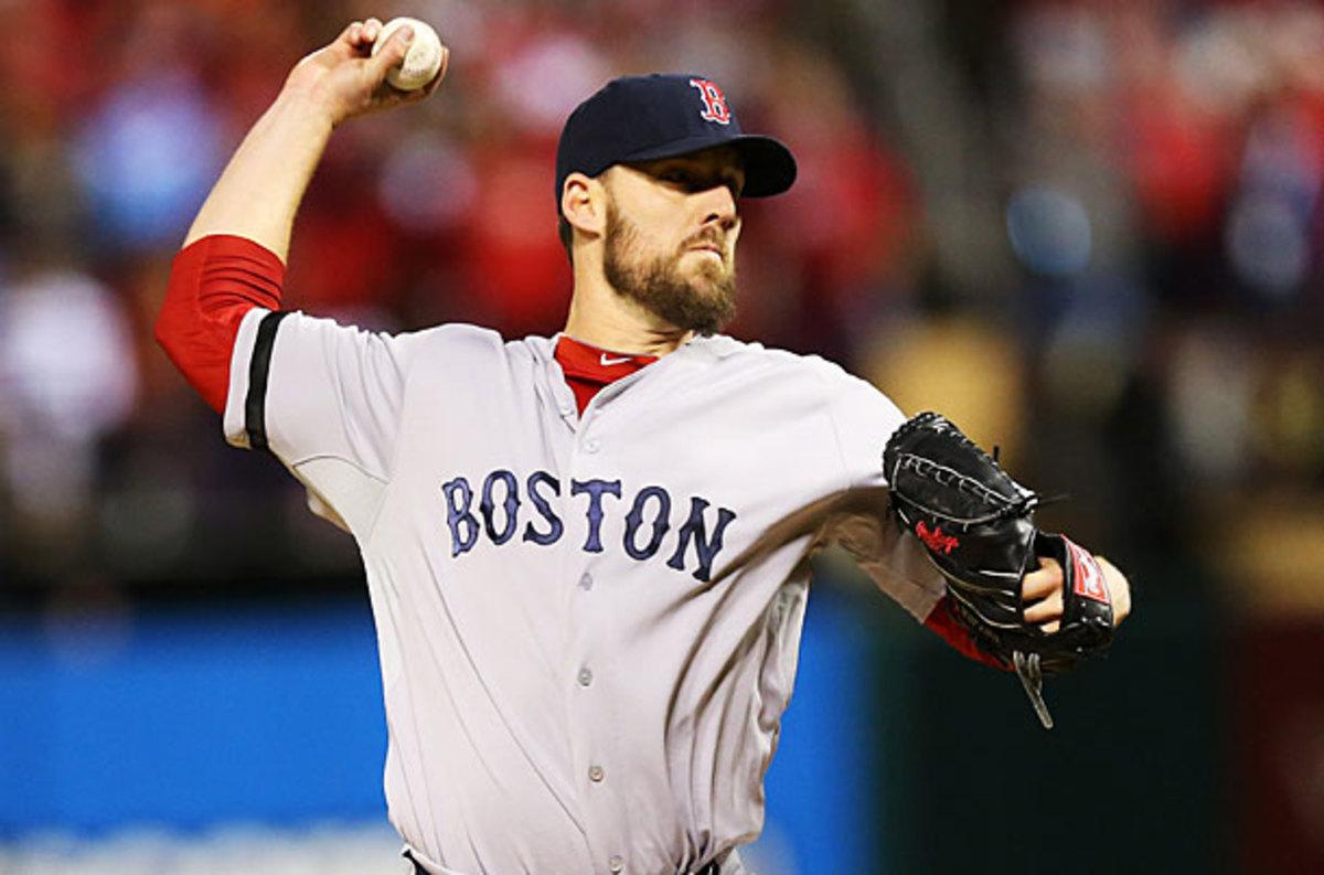 John Lackey, Red Sox