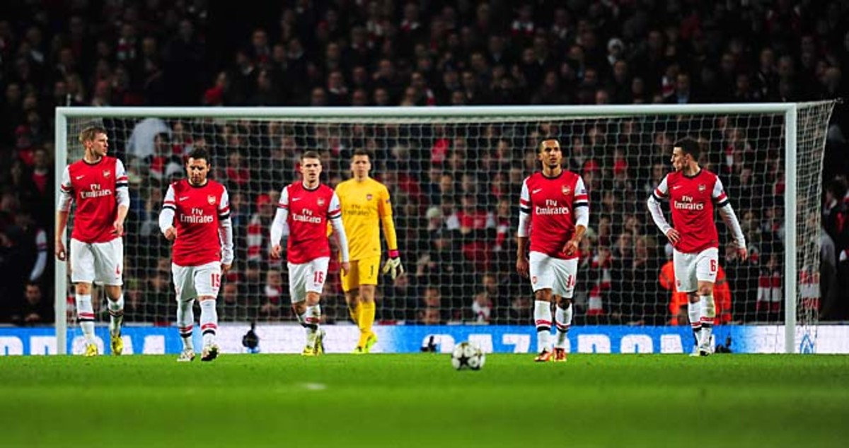 Arsenal is looking at another trophy-less season, sitting fifth place in the Premier League.