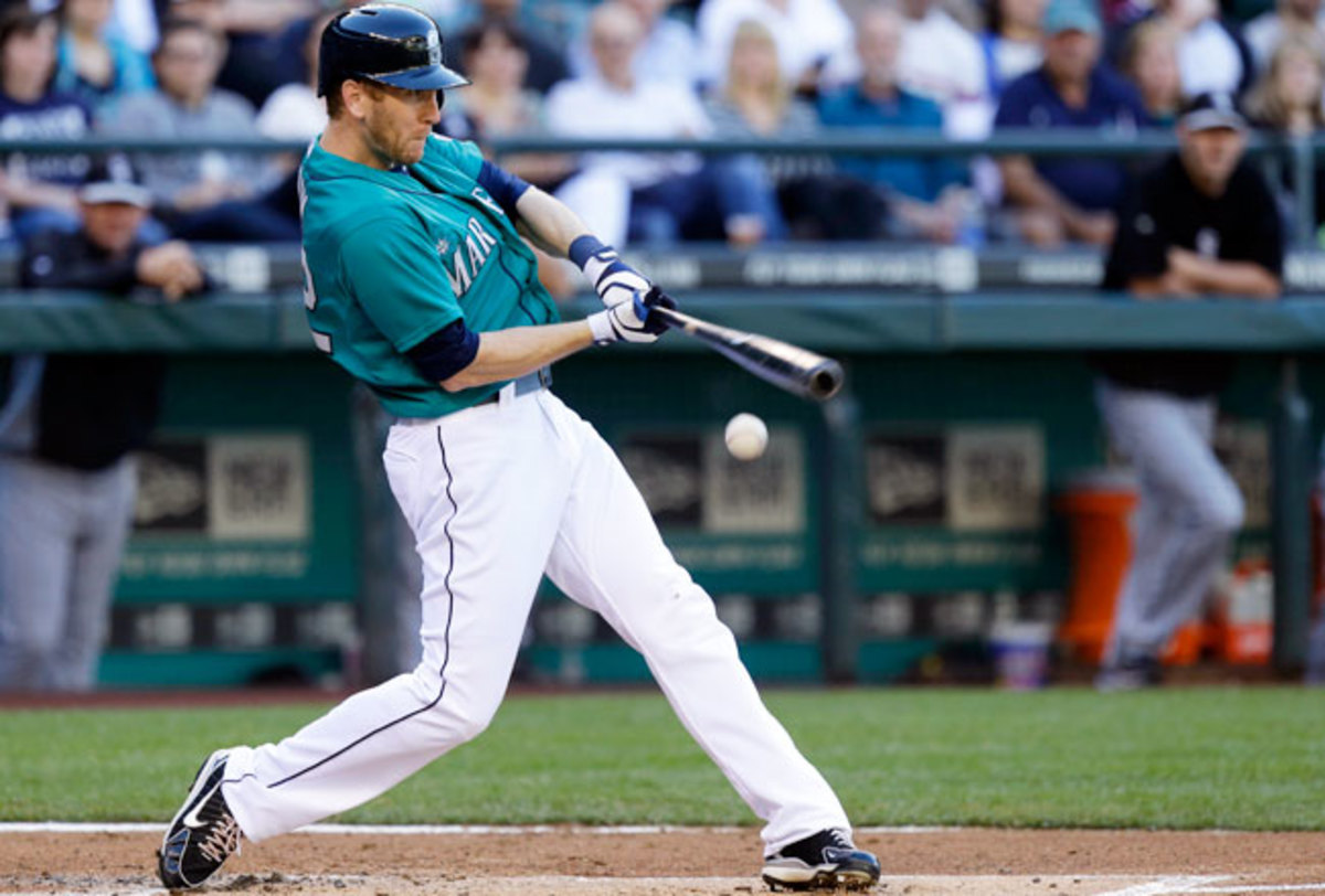 Jason Bay was hitting .204 with the Seattle Mariners this year.