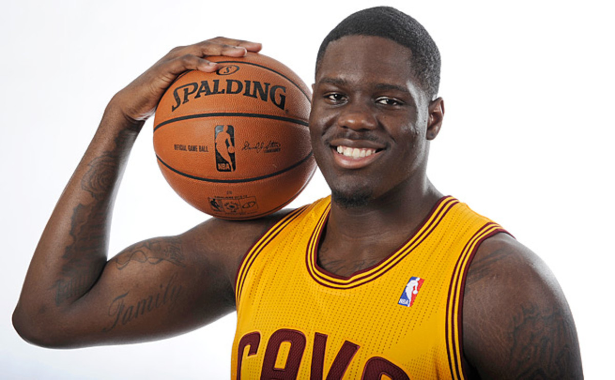 Cavaliers forward Anthony Bennett, the No. 1 pick in the 2013 draft, grew up in Toronto.
