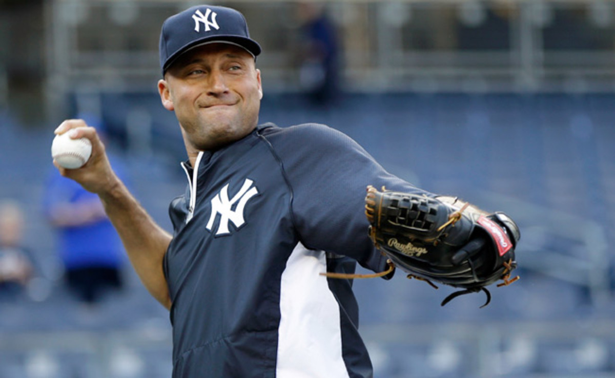 Derek Jeter is expected to return to the Yankees' lineup Sunday against the Rays.