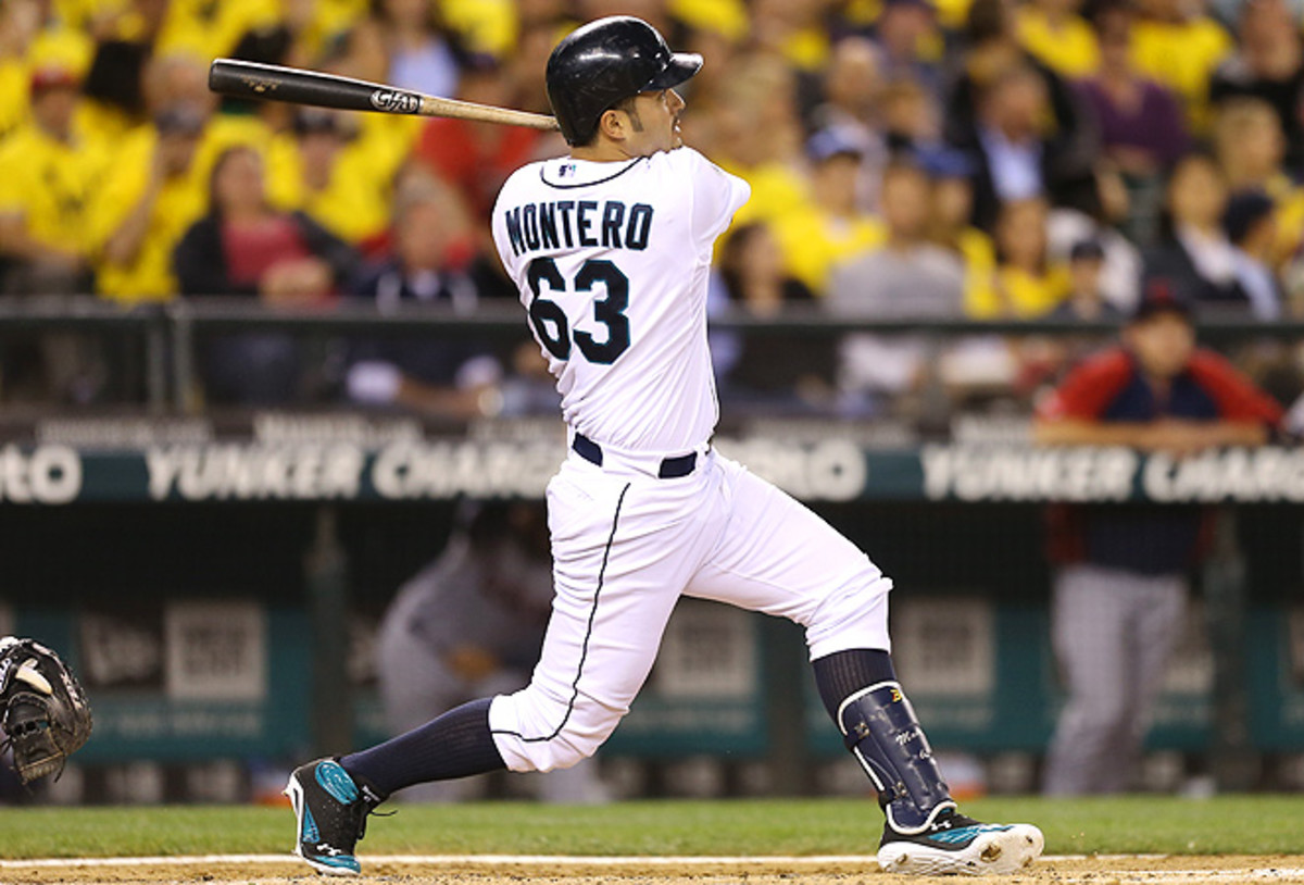 Jesus Montero, who hit 15 homers last year, should benefit from the moved-in fences in Seattle.