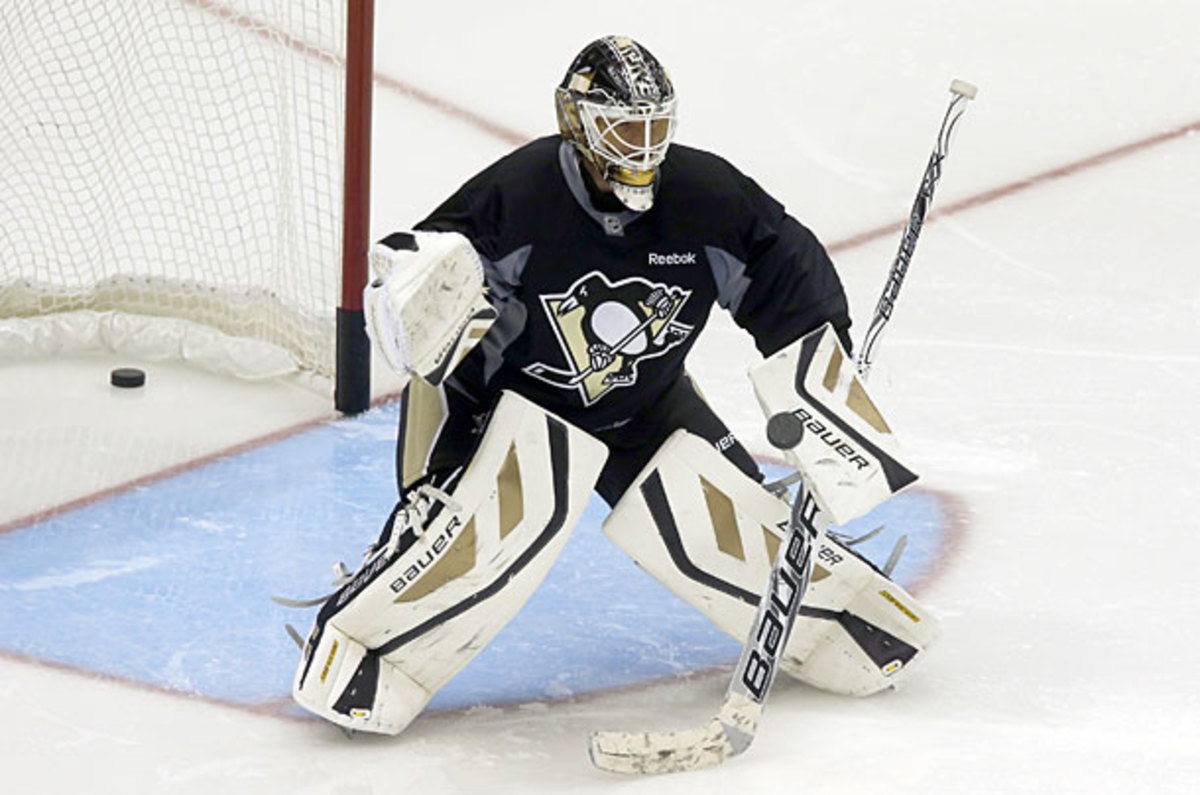Goaltender Tomas Vokoun of the Pittsburgh Penguins