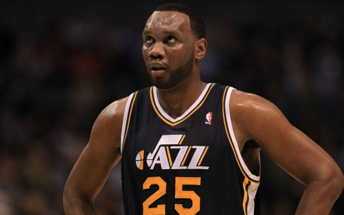 Al Jefferson likely has played his last game in a Utah Jazz uniform. (Photo by Ronald Martinez/Getty Images)
