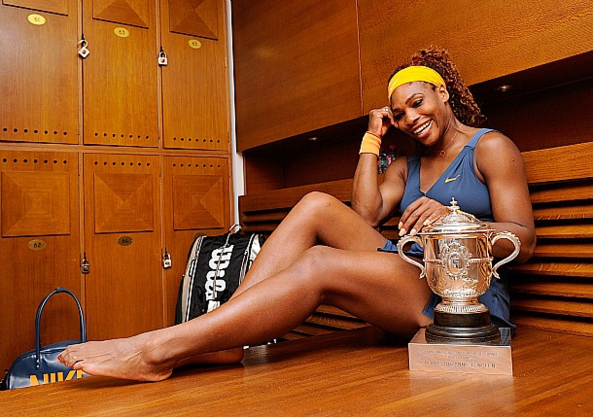 Serena Williams is now just two major titles away from tying the women's Open Era record (Getty Images)