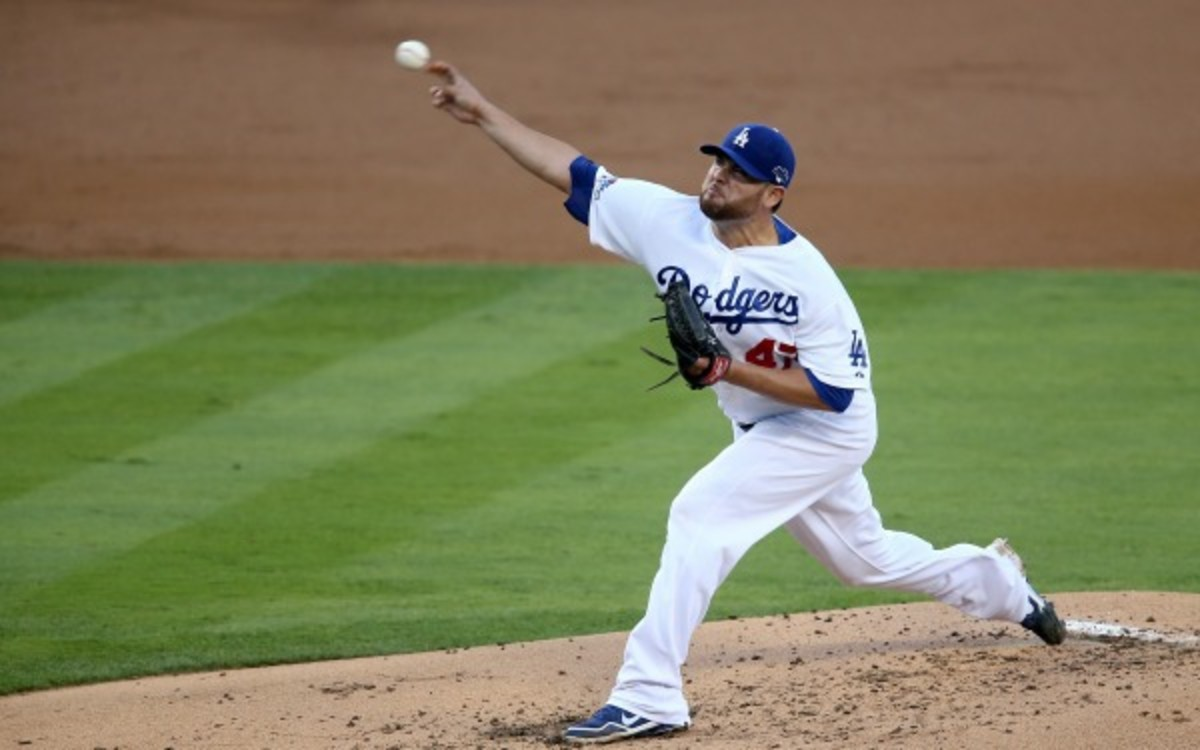 Ricky Nolasco went 13-11 last season with two teams. (Jeff Gross Getty Images