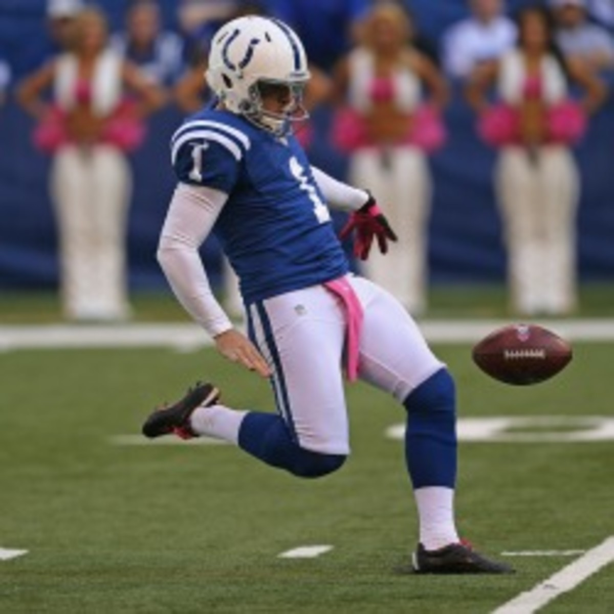 The Colts have announced that they will use the franchise tag on Pat McAfee (Jonathan Daniel/Getty Images)
