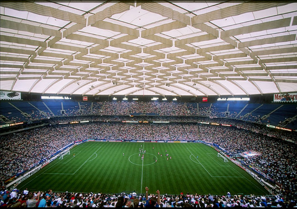 Detroit hosted hosted soccer matches at the Silverdome during the 1994 World Cup.