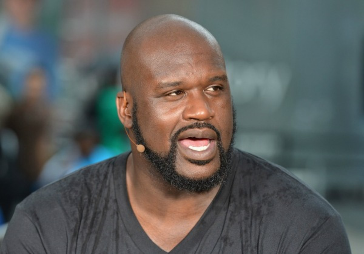 Shaquille O'Neal is becoming a minority owner of the Kings. (Slaven Vlasic/Getty Images)