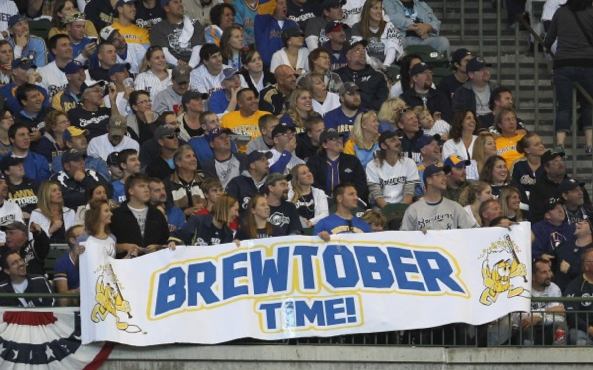 Milwaukee Brewers' fans are being offered vouchers for food, merchandise and tickets. (Jonathan Daniel/Getty Images)