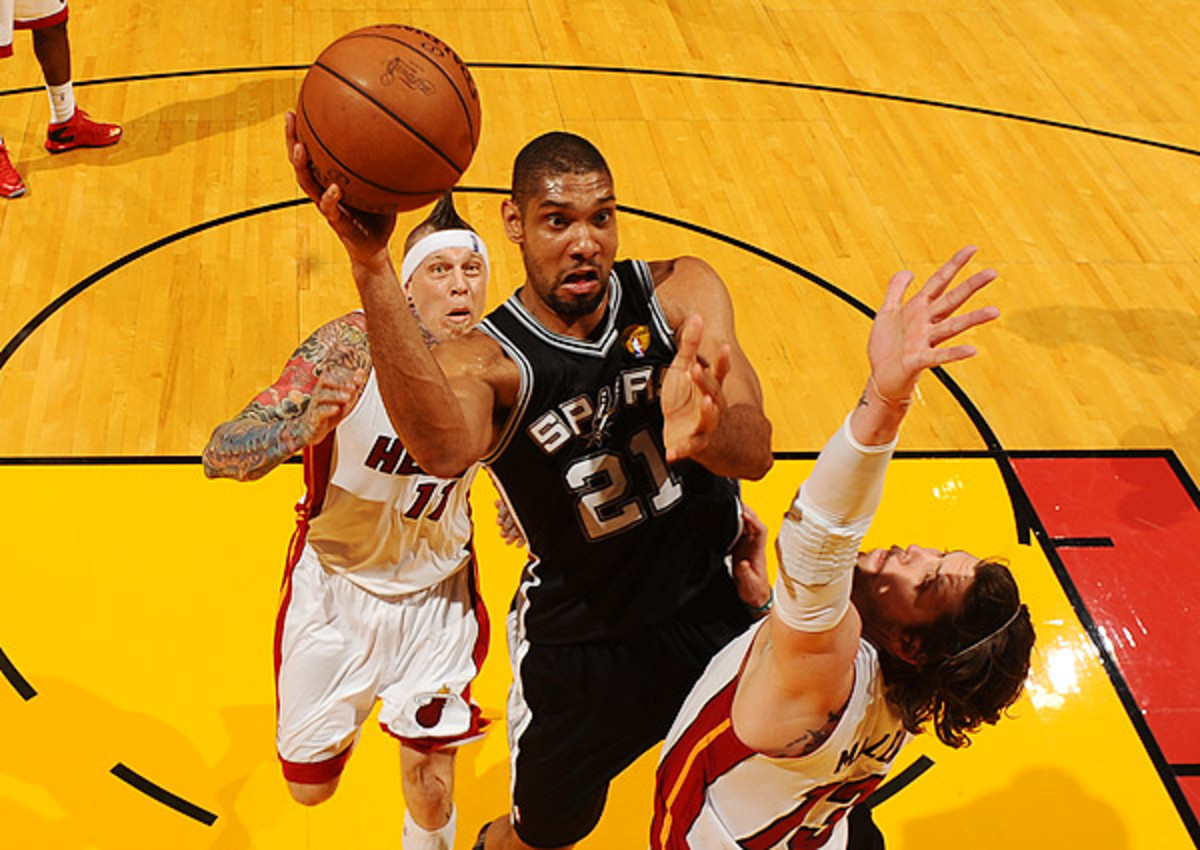 Tim Duncan says he has no plans to retire from San Antonio Spurs