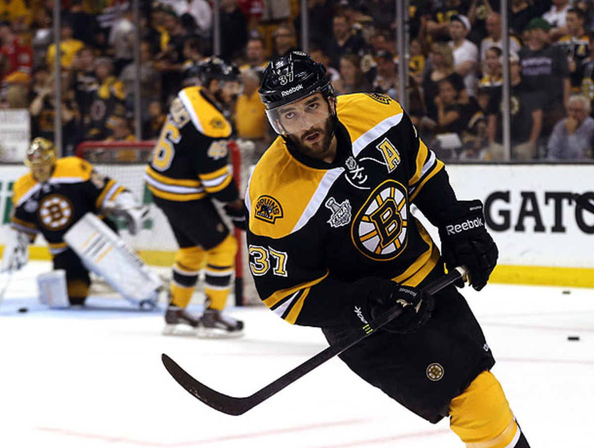 Patrice Bergeron will be able to help the Bruins in their attempt to stave off elimination.