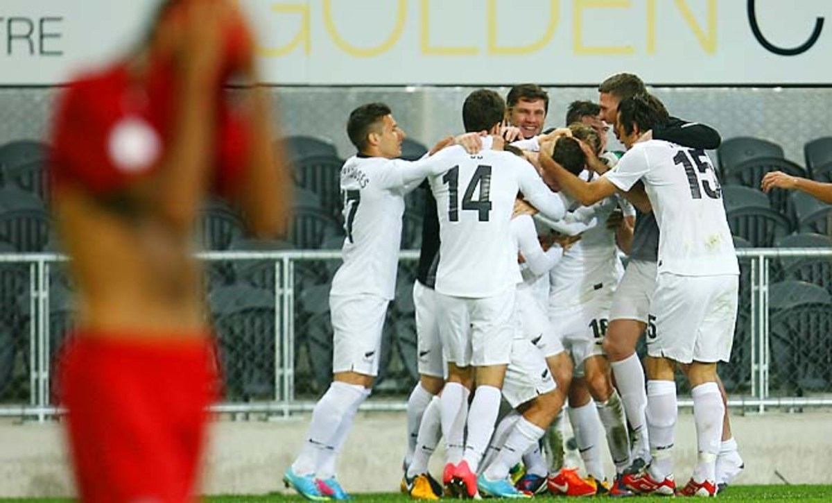 New Zealand will play the fourth-place CONCACAF team in a playoff to make the World Cup.