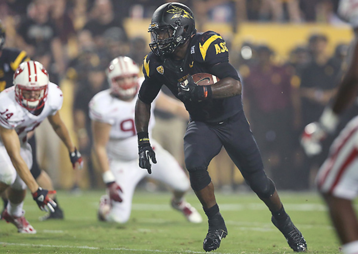 Arizona State brings plenty of tempo on offense, especially with running back Marion Grice.