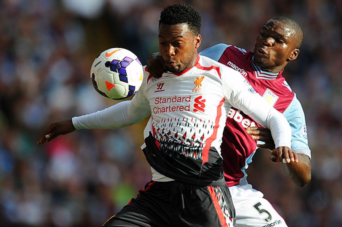 Daniel Sturridge has scored eight goals in the last seven games for Liverpool.
