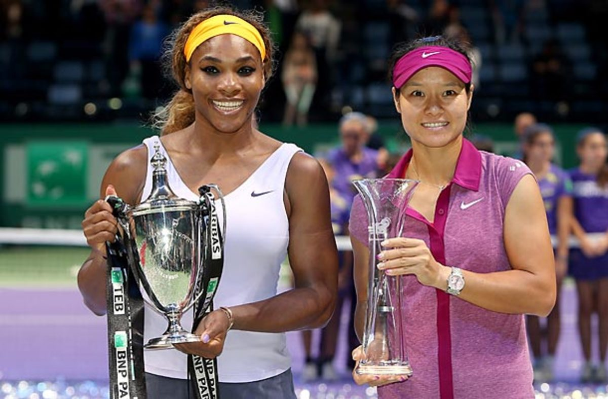 Serena Williams and Li Na