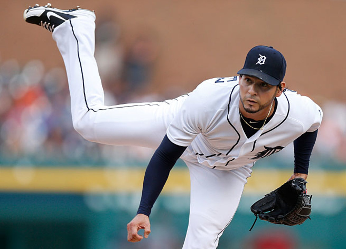 Returning from an injury, Anibal Sanchez was stellar in July, going 3-0 with a 2.15 ERA for Detroit.