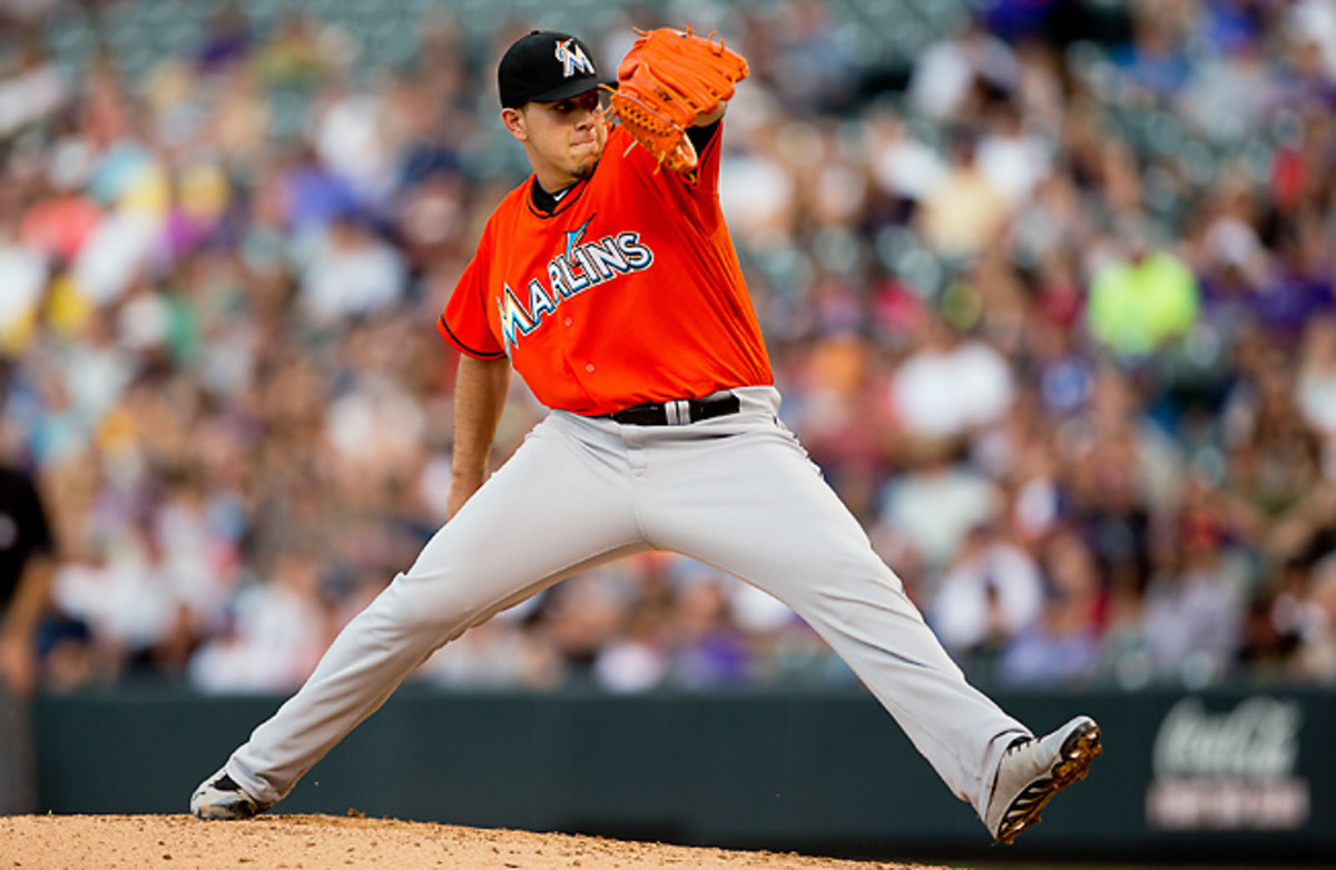 Miami's Jose Fernandez has been pitching like an ace since April and could be the NL's top rookie.