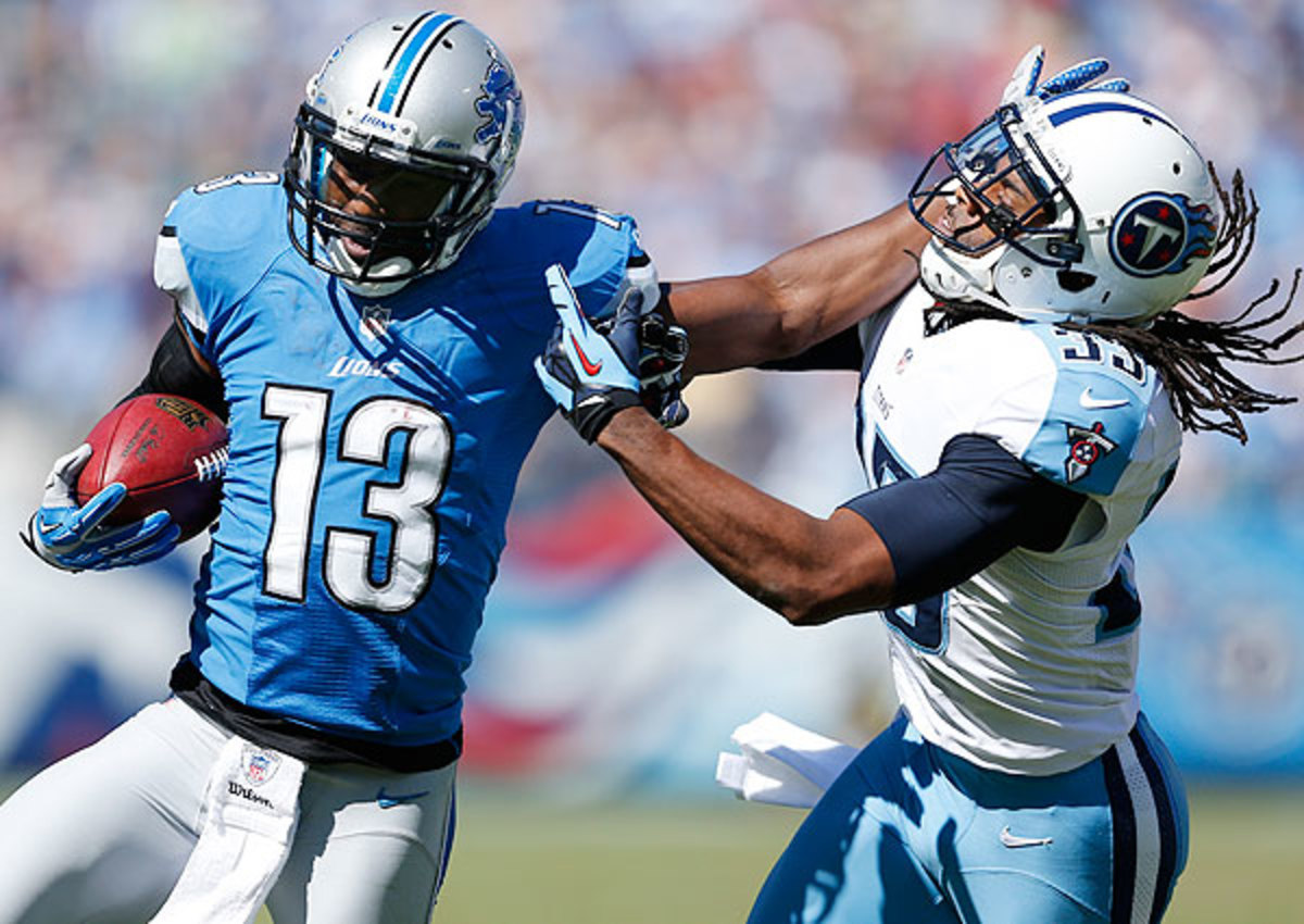 Nate Burleson has hauled in 19 passes for 239 yards in 2013.