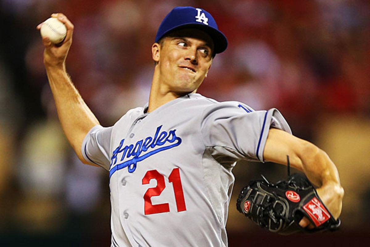 Zack Greinke, Dodgers