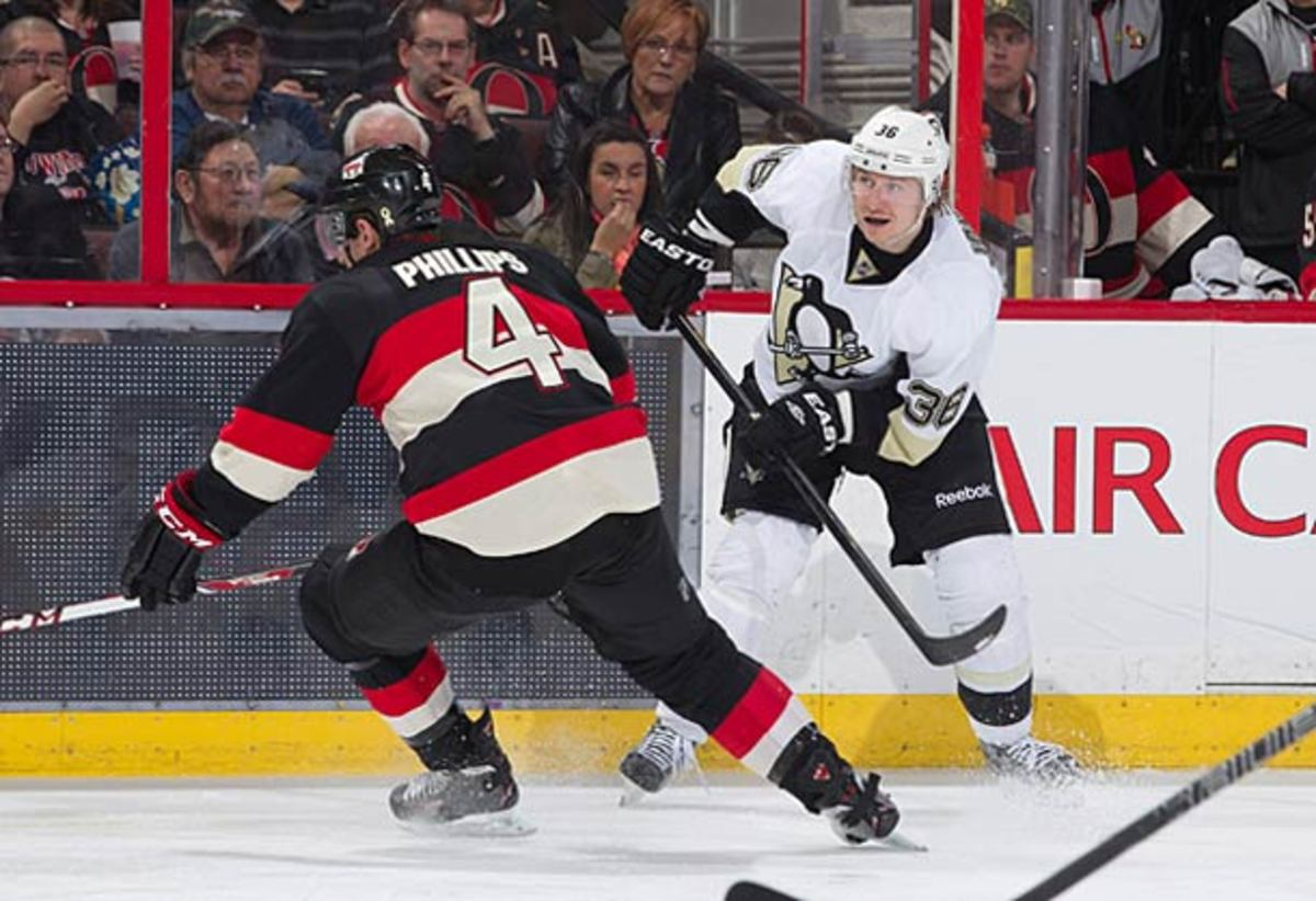 Jussi Jokinen joins the Pittsburgh Penguins lineup for Game 4 vs. Ottawa