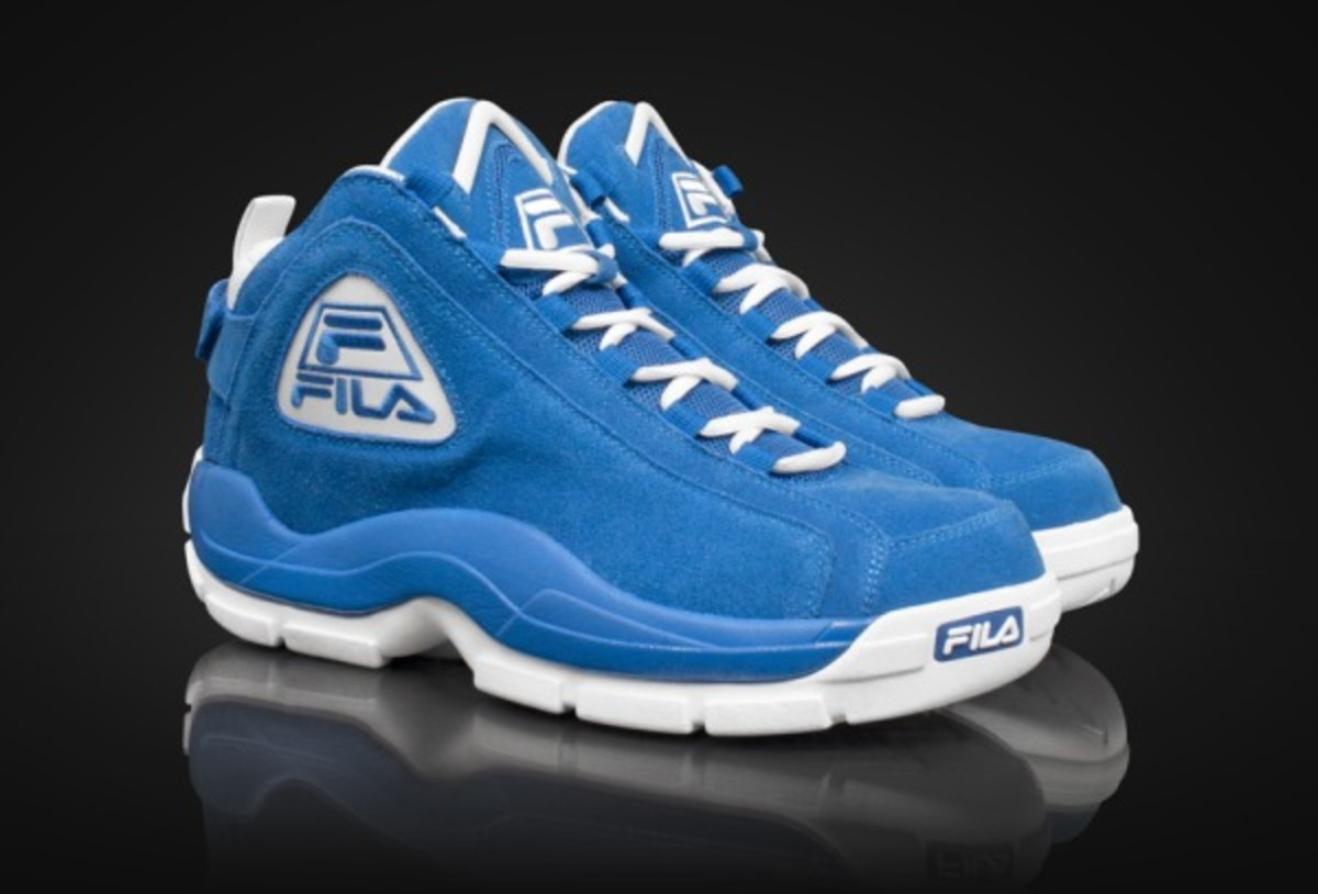 The FILAs that Grant Hill wore