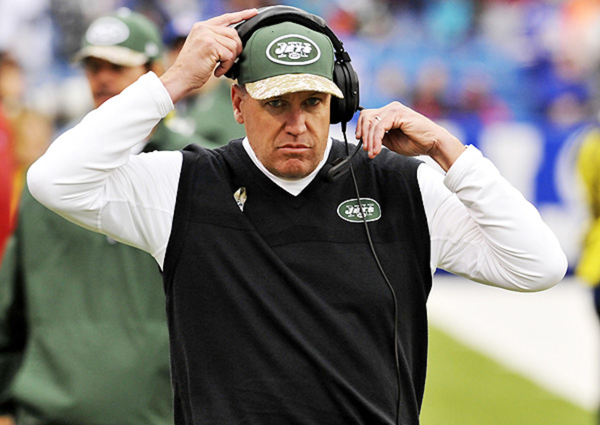 Rex Ryan's Jets surprised this season, but eventually came down to earth.