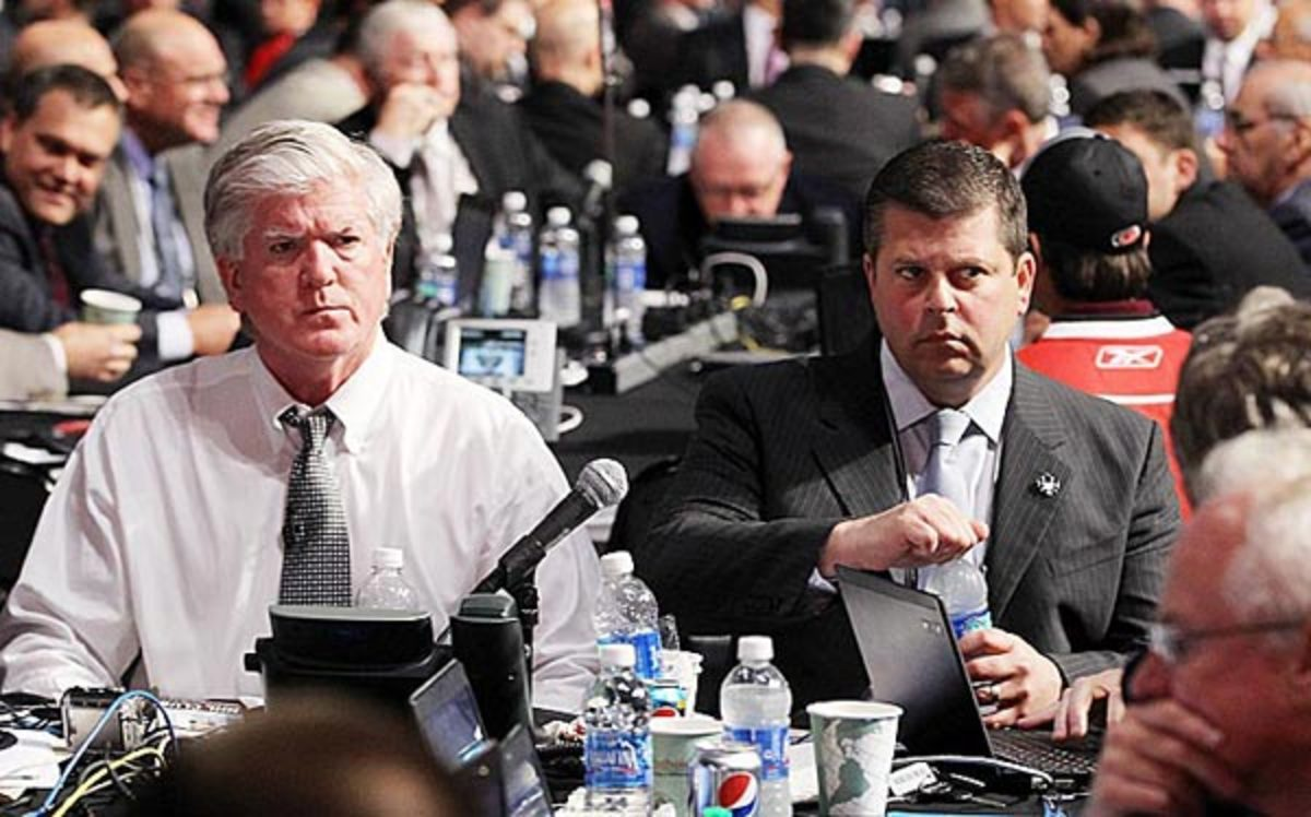 Brian Burke and Dave Nonis