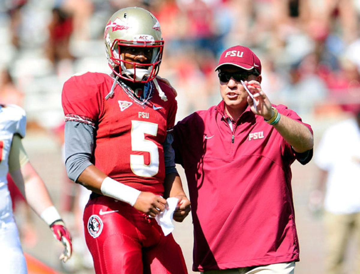 After a strong spring, Jameis Winston seems set to be FSU's quarterback of the future. (Stacy Revere/Getty Images)