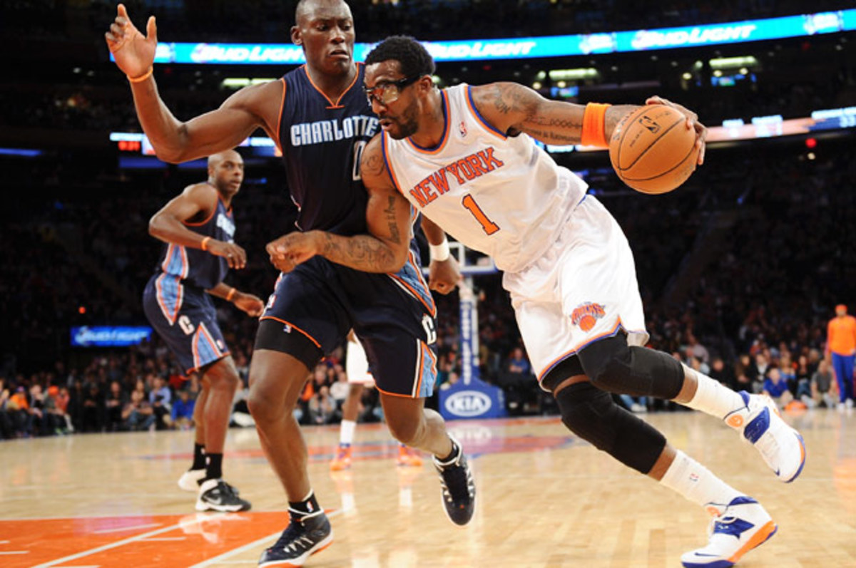 Amar'e Stoudemire, who is due $21.7 million this season, is averaging 3.5 points in four games.