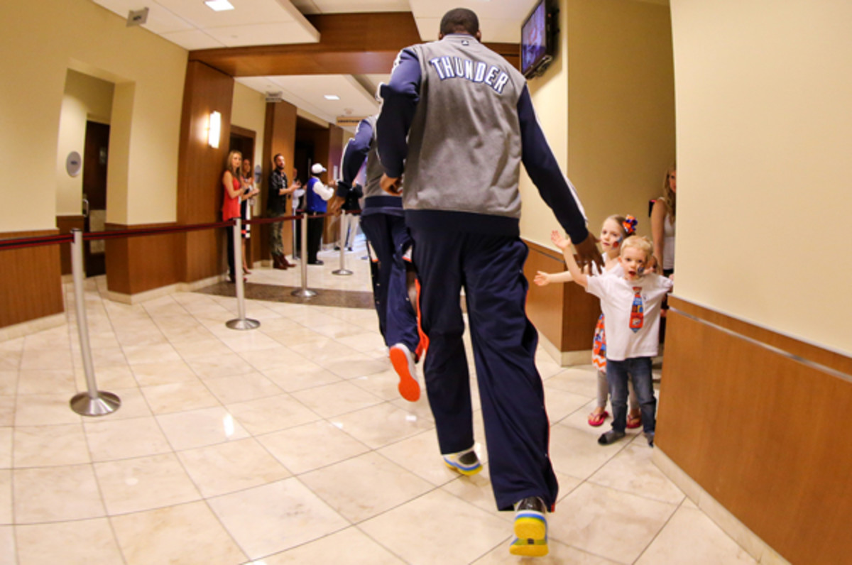 Kevin Durant has spent five years in Oklahoma City. (Layne Murdoch/Getty Images)