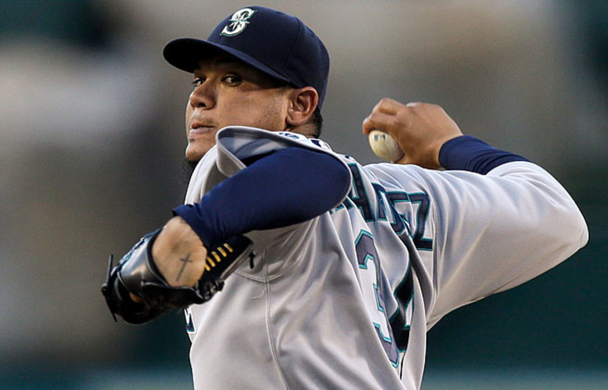 Felix Hernandez has finished in the top-4 of the Cy Young voting three times in the past five years.