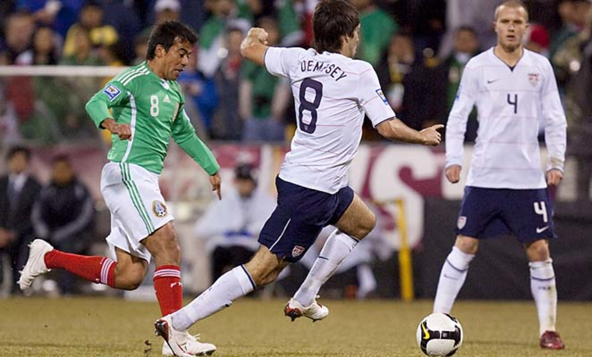 The U.S. beat Mexico 2-0 in a World Cup qualifier in Columbus in 2009.