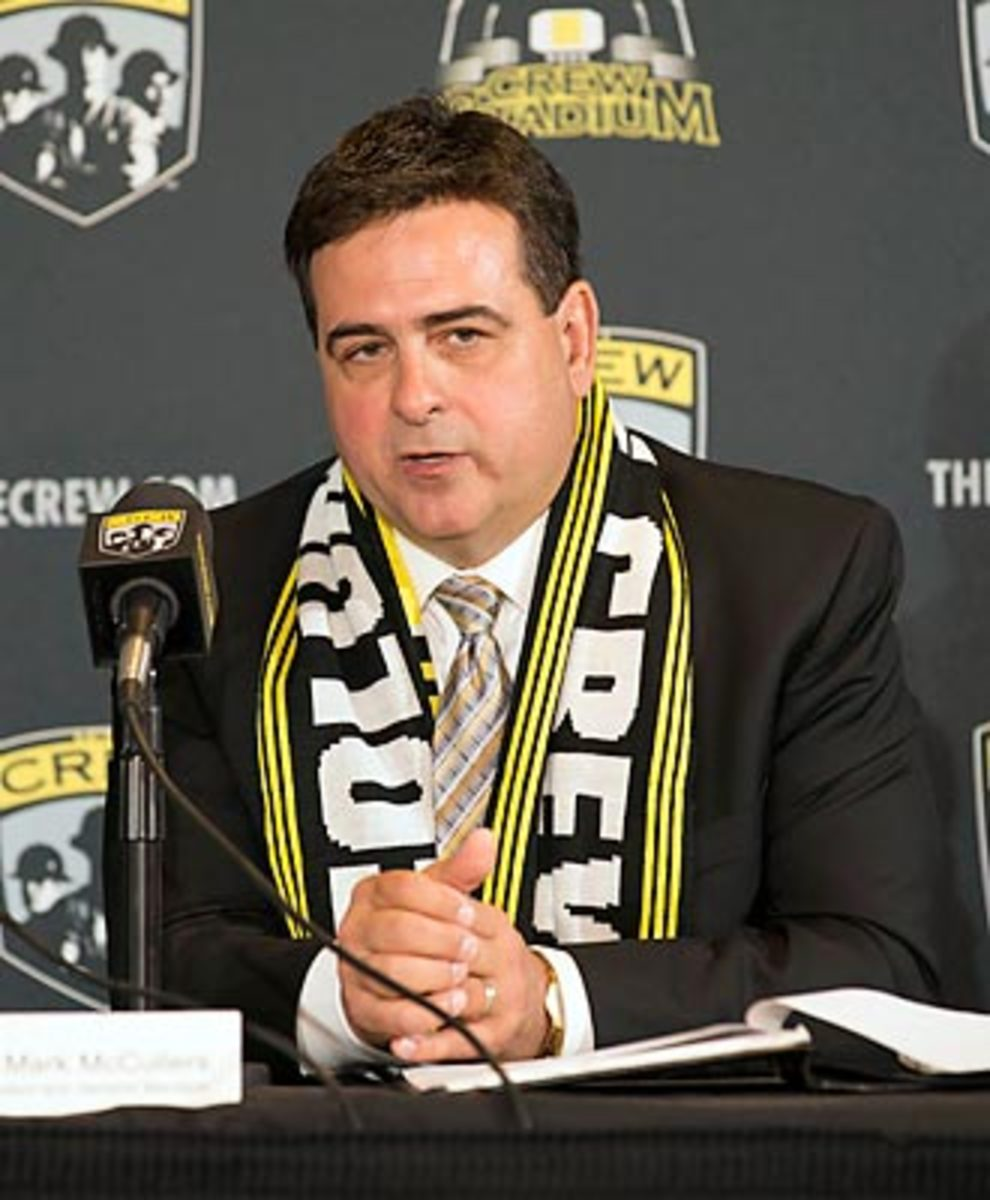 Crew GM Mark McCullers hopes to lead the club into MLS' upper echelon.